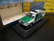 1/43 Minichamps Mercedes W124 250 TD Polizei Break 3920 - police polizia politie