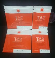 Tan Towel PLUS 2 x Full and 2 x Half Body Application for Face and Body-New