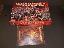 Boite jeu de base Warhammer COMPLET, see description regles FRENCH