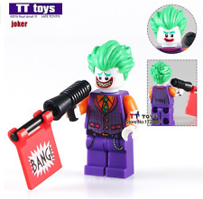 Joker (bang) Batman Movie custom minifigure Fits Lego  - TRUSTED UK SELLER