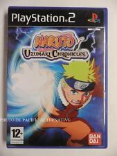 COMPLET jeu NARUTO UZUMAKI CHRONICLES 1 sur playstation 2 PS2 en francais juego