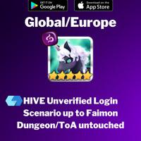 [Global/Europe] Alexandra Dark Unicorn Summoners War Faimon Starter Account
