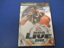PlayStation 2, NBA Live 2002, EA Sports, Rated E, Life In The Paint