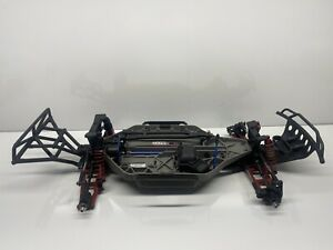 Traxxas Slash 4x4 1/10 Sct Slider/Roller W Upgrades (Incomplete) Rc Part #5995