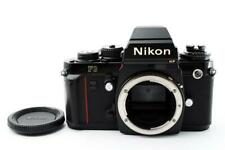 Nikon F3 HP Black 35mm SLR Body Only Camera Lens Tested Working Used