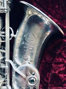 Saxophone Alto Selmer Mark VI Argenté - Silver - Argenté - 1969 - High F#