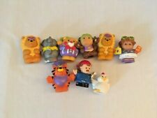 Fisher Price LITTLE PEOPLE Mixed Lot of 9 ZOO CIRCUS ANIMALS PEOPLE 1998 - 2006