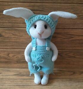 Crochet rabbit, Handmade soft toy, Crochet soft rabbit, Cute handmade bunny