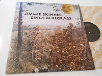 BLUEGRASS  JIMMIE SKINNER SINGS BLUEGRASS    LP VINYL   ORIGINAL  M- NM