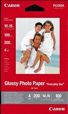 Canon 0775B003 Photo Paper Glossy 10x15 100-pack E