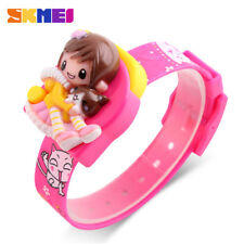 SKMEI Fashion Children Cartoon Watch for Girl Lovely Gift Kid Digital Wristwatch