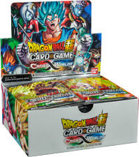 Dragon Ball Super Cross Worlds 10 Booster Pack Lot DBZ Super TCG Series 3