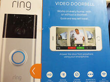 RING WI-FI ENABLED HD NETWORK SMART PHONE VIDEO SECURITY CAMERA DOORBELL