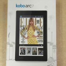 "Kobo Arc 7 Android Tablet 8 GB WIFI Micro SD 7"" W. Camera - 1.20 GHz - Black"