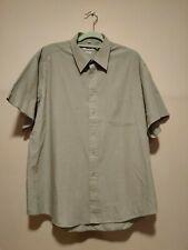 """Sabatini Green Shirt 18"""" Collar"""