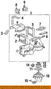 Mercury FORD OEM 99-02 Villager-Blower Motor XF5Z19805CA