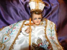 Pope dress for Baby Jesus/ nino Dios Vestido del Papa Blanco medida en cms