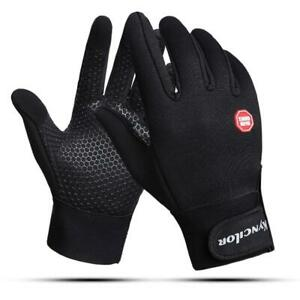 Cycling Gloves With Wrist Support Touch Screen Outdoor Bike Sports Windproof