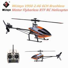 WLtoys V950 2.4G 6CH 3D 6G  Brushless Motor Flybarless RC Helicopter RTF L7M4