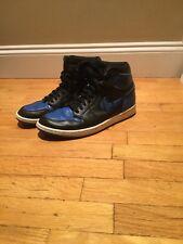 Nike Air Jordan Retro 1 High OG Black/ Royal Blue Men's Shoes Size 11 (2013)
