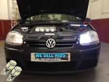VW Golf mk5 ICE White LED CANBUS 501 SIDE LIGHTS Blubs 5 SMD  Xenon High power