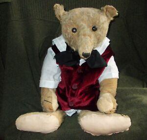 ANTIQUE STEIFF TEDDY BEAR 24 INCHES CIRCA 1909