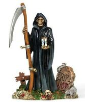 Department 56 Halloween Village The Grim Reaper Accessory Figurine 810636 New