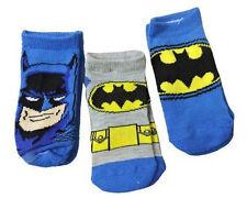 New Batman Blue Kids 3 Pack Socks, size 2T-4T, Bruce Wayne