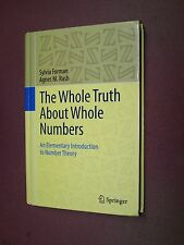 The Whole Truth about Whole Numbers. Forman, Rash