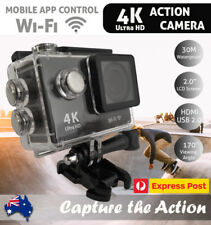 4K Wifi Ultra HD 1080P Sport Action Camera DV Video Waterproof Camcorder Compact
