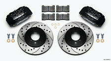 Wilwood Disc Brake Kit Honda Civic Integra Fit 4 Piston Black Caliper 140-12996D