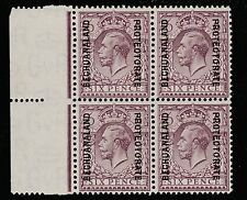 Bechuanaland (S50) 1925 KG5 6d block of 4 unmounted mint SG 97 cat £200