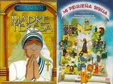La Madre Teresa / Mother Teresa & Mi Pequena Biblia New Dvd