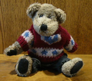 """Boyds Plush #911901 FREDDY BEANBERGER,  10"""" NEW/Tag From Retail Store, Jointed"""