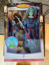 Wizard of Oz Barbie Ken Winkie Guard Doll and Winged Monkey - new in box