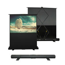 """HiViLux Stand/Koffer-Leinwand Tragbar 100"""" 16:9 221x124cm 3D/2D/Full HD/Gain=1,2"""
