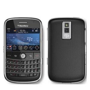 Original Blackberry Bold 9000 GPS WIFI 3G Unlocked Black AU Stock