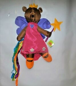 "Fairy Bear 3D Nutty Buddies Windsock by Premier. #8516, 52"" Long."