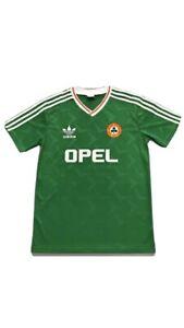 Republic Of Ireland 1990 Retro Football Shirt Soccer Jersey Men's Large