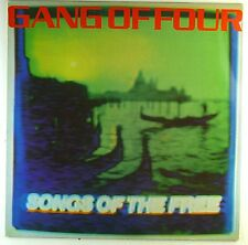 "12"" LP - Gang Of Four - Songs Of The Free - M705 - washed & cleaned"