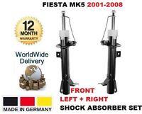 Para Ford Fiesta 2001-2008 Nuevo 2x Frente Izquierda & Derecha Amortiguador Set