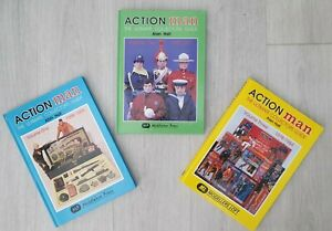 VINTAGE ACTION MAN ULTIMATE COLLECTORS BOOKS VOLUMES 1,2,3