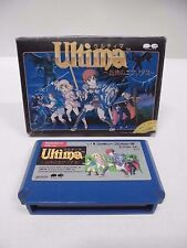 Ultima Exodus -- Can save data. Famicom, NES. Japan game. Work fully. 10151