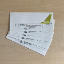 5x Air Baltic Boeing 737 Sticker Set (neu)