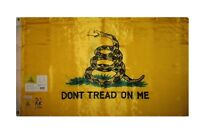 3x5 Gadsden Tea Party Don't Tread on Me Flag Double Sided Nylon 210D 2ply w/ Pin