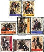 Polen 2222-2229 (kompl.Ausg.) postfrisch 1972 Polnische Reiterei