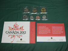2012 Canada Prooflike Set incl Envelope and COA **Last Year of the Penny**