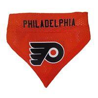 Philadelphia Flyers NHL Licensed Pets First Dog Pet Reversible Bandana 2 Sizes