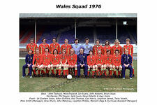 Wales Squad 1976 Team Photos