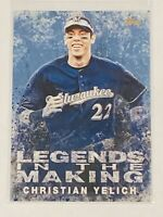 2019 Topps Legends In The Making Christian Yelich Blue parallel